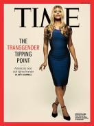 Révolution sur la couverture du magazine de la famille américaine, avec Laverne Cox à la Une.