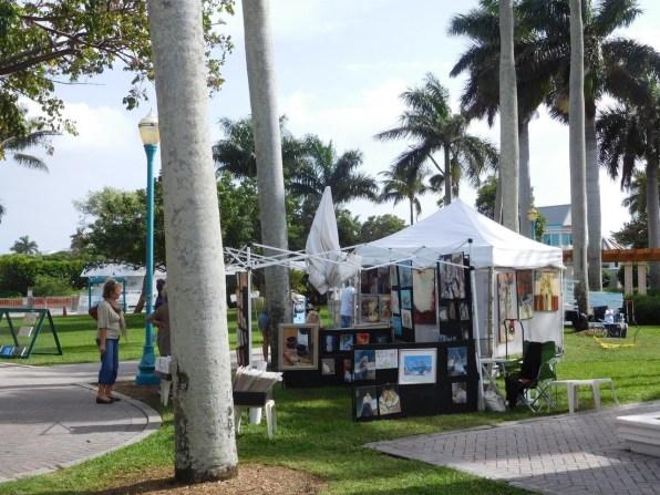 Exposants d'art sur l'Intracoastal - Delray Beach - Floride