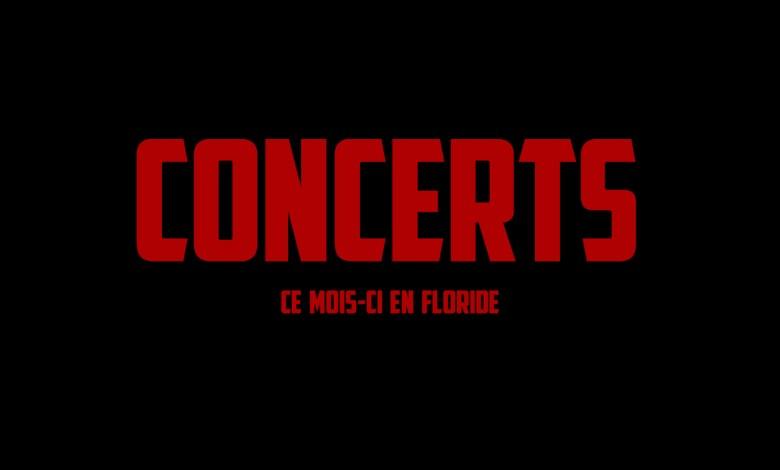 Concerts à Miami et en Floride