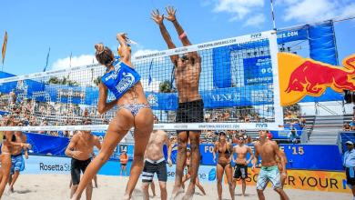 Photo of L'incroyable tournoi de volley pour mannequins à Miami Beach : c'est à ne pas manquer !