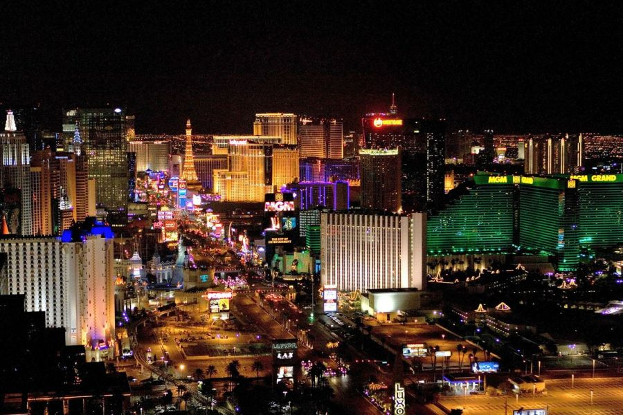 Le Strip de Las Vegas