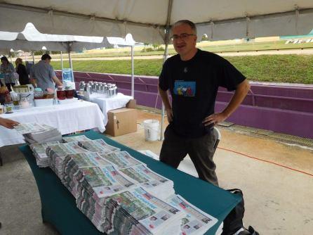 QuébecFest 2016 : Stand du Courrier de Floride