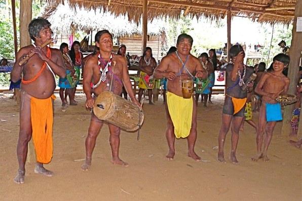 Chagres Park - Embera Puru Indians