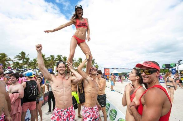 Model Beach Volleyball Tournament