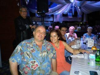 Richard Clavet et sa femme, de Richard's Motel