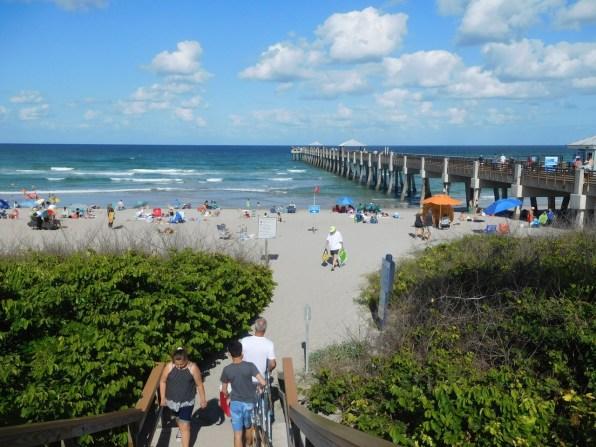 Plage de Juno Beach / Floride