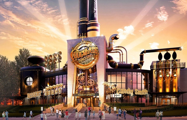 Charlie et la chocolaterie Universal Orlando