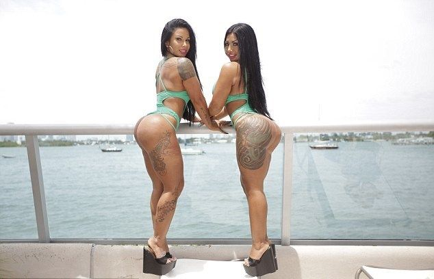 Nadia et Dana Bruna