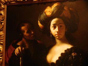 Peinture au Musée d'Art au Ringling Museum à Sarasota / Floride