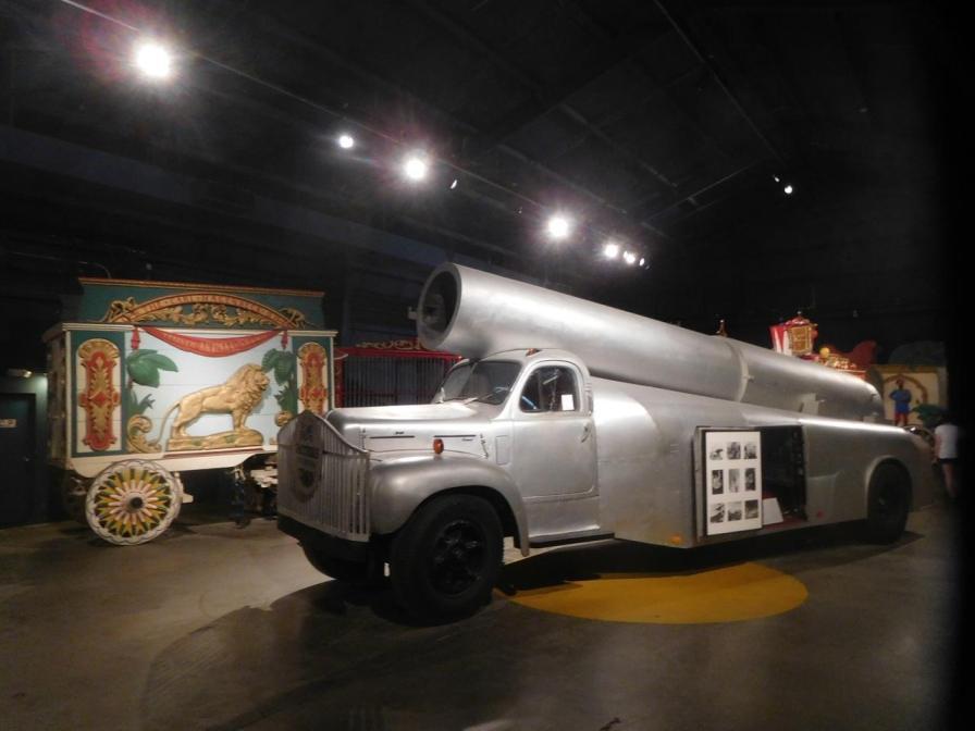 Musée du Cirque au Ringling Museum à Sarasota / Floride