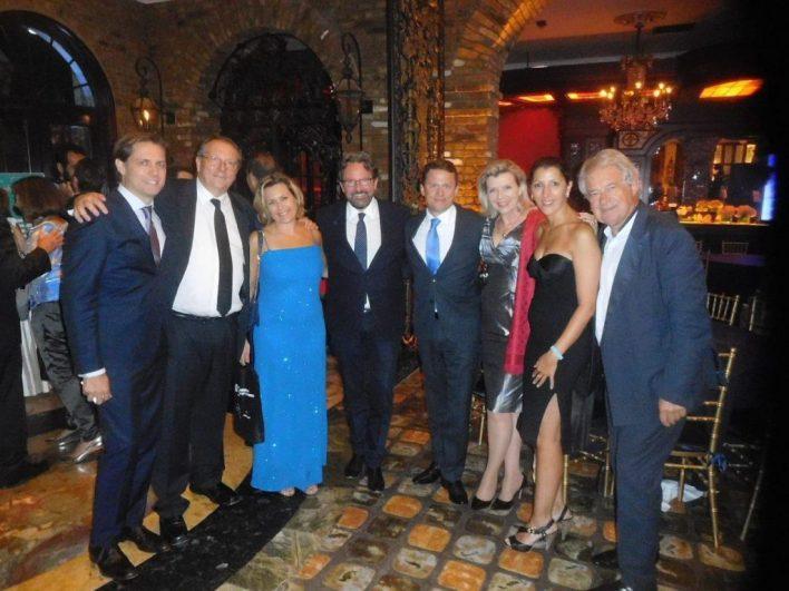 Frédéric Lefebvre à la sortie du gala de la Chambre de Commerce, le 19 mai au Cruz Building de Miami