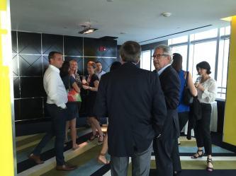 Photo du lancement d'Acadomia au Conrad Hôtel de Miami