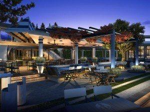 Image de synthèse du futur restaurant River Yacht Club