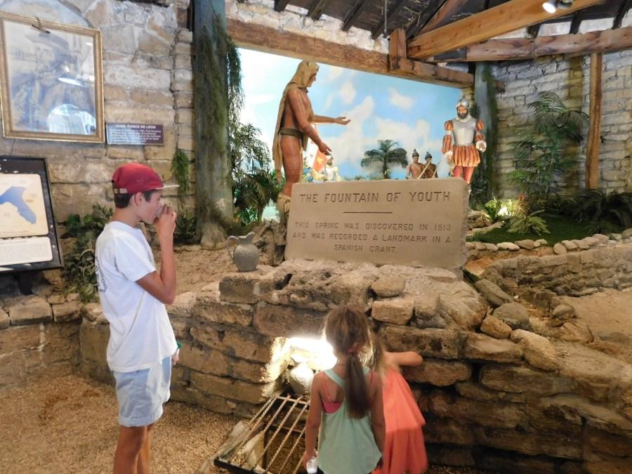 Fontaine de Jouvence / St Augustine / Floride