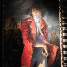 Le pirate français Louis Aury en bonne place au Pirate and Treasure Museum de St Augustine