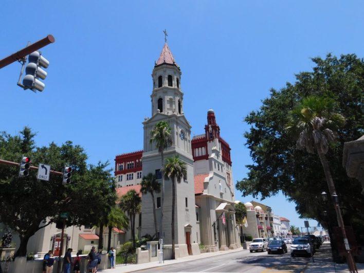 La cathédrale-basilique de St Augustine