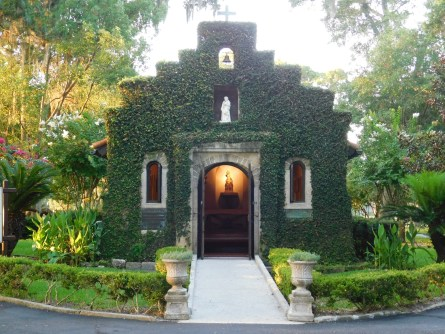 Chapelle Shrine Our Lady of La Leche, Mission Nombre de Dios / St Augustine / FlorideChapelle Shrine Our Lady of La Leche, Mission Nombre de Dios / St Augustine / Floride