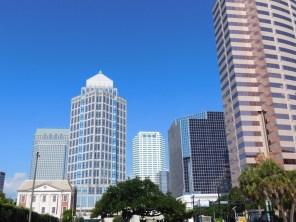 Centre ville de Tampa / Floride