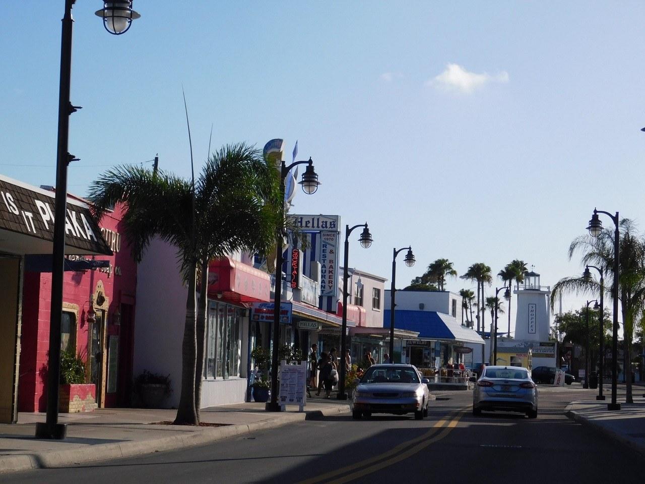 Port de Tarpon Springs en Floride