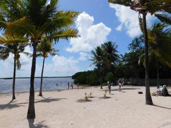 Plage de Far Beach au John Pennekamp Coral Reef State Park / Key Largo / Floride