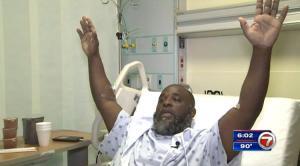 Charles Kinsey north miami, un homme noir qui s'est fait tirer dessus par un policier