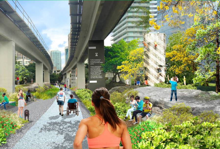 Projet de parc Underline