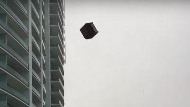 Photo of Une pluie de meubles durant une tempête à Miami (vidéo)
