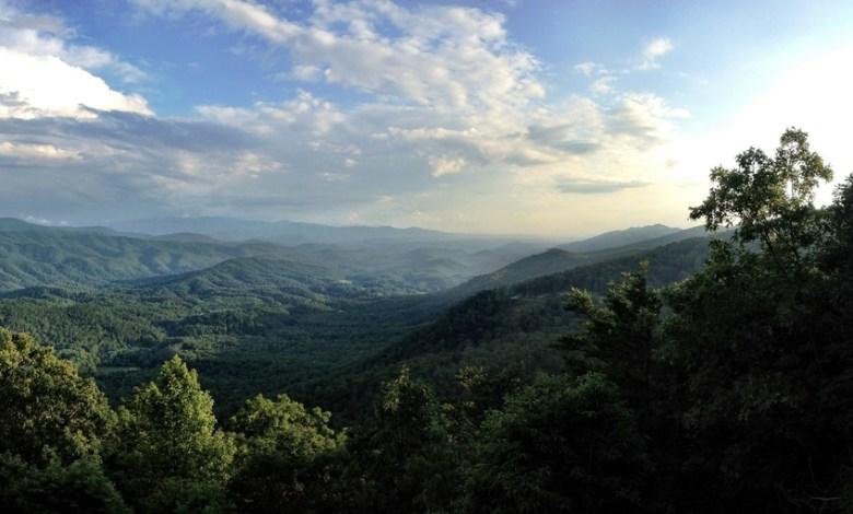 Les Smoky Mountains, dans les Appalaches