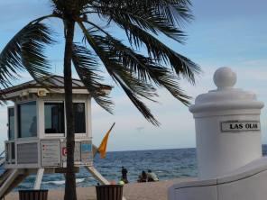 La fameuse plage de Las Olas de Fort Lauderdale