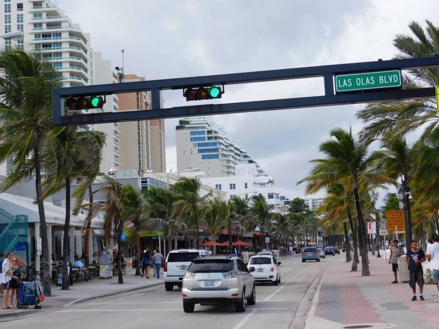 Le bord de mer à Fort Lauderdale