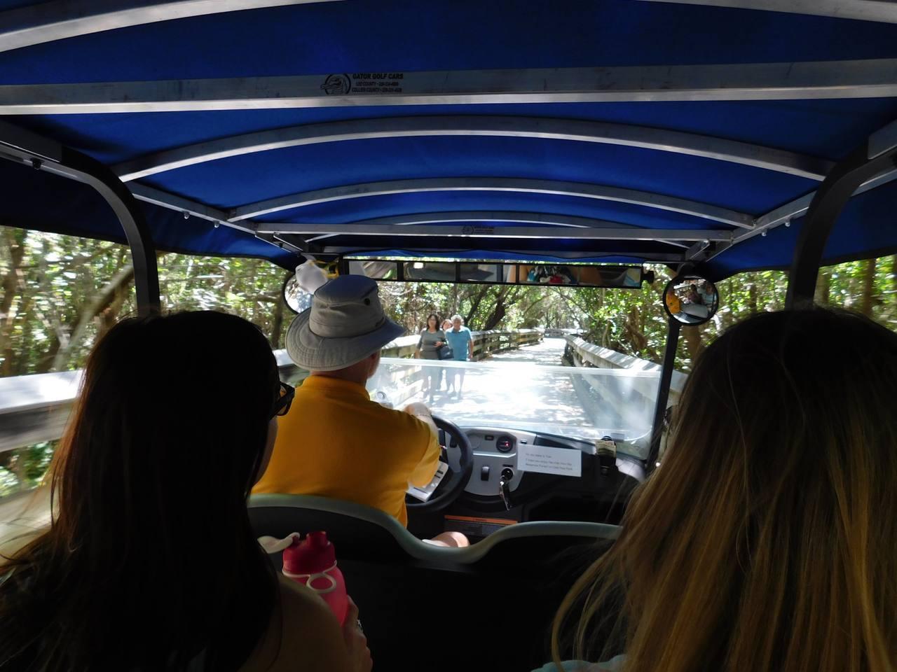 Navette pour la Plage de Clam Pass Park à Naples en Floride