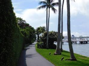 Pistes cyclables sur l'île de Palm Beach