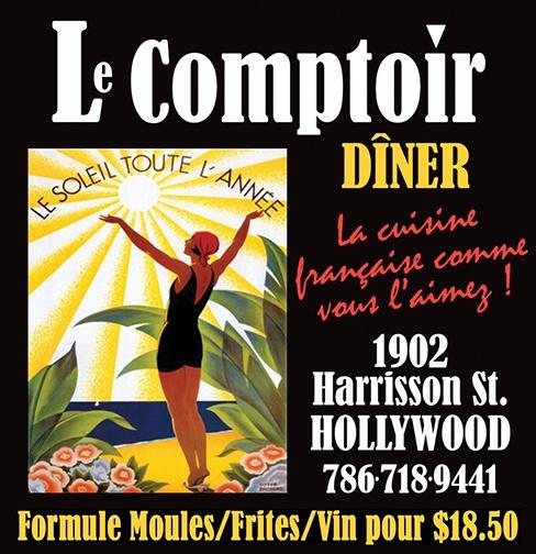 Le Comptoir Cuisine Francaise Moules Frites Hollywood
