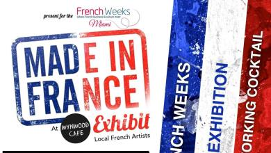 Photo of Evénement : Expo Artistes « Made in France » à Miami le 2 novembre