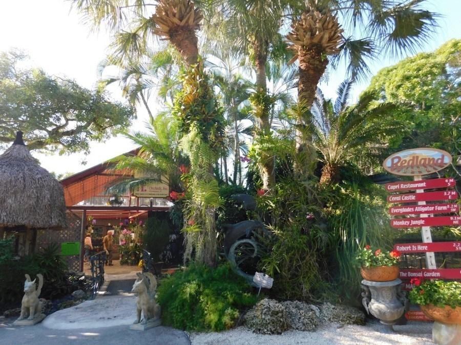 Orchid's Inc dans le Redland de Homestead (près de Miami en Floride)