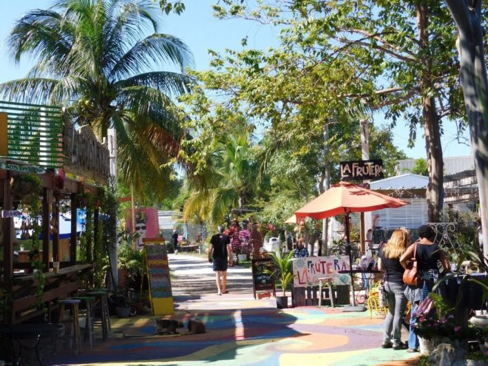 The Yards : quartier sympathique de Wilton Manors (près de Fort Lauderdale en Floride)