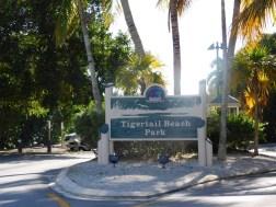 Plage publique de Tigertail Marco Island en Floride