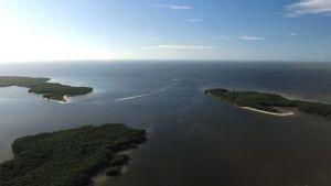 Vue aérienne des 10 000 Islands