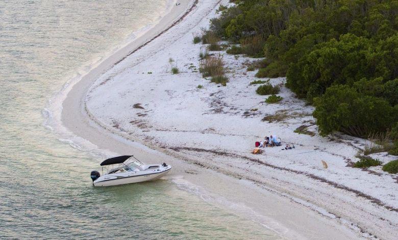 Cape Romano (10 000 Islands des Everglades) Crédit photo : Darron R. Silva)