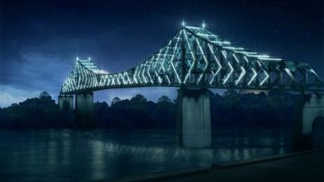 Le Pont Jacques Cartier.