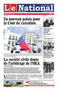 Journal haïtien Le National