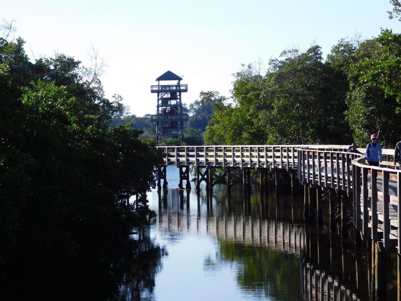 Robinson Preserve Park, à Bradenton en Floride.