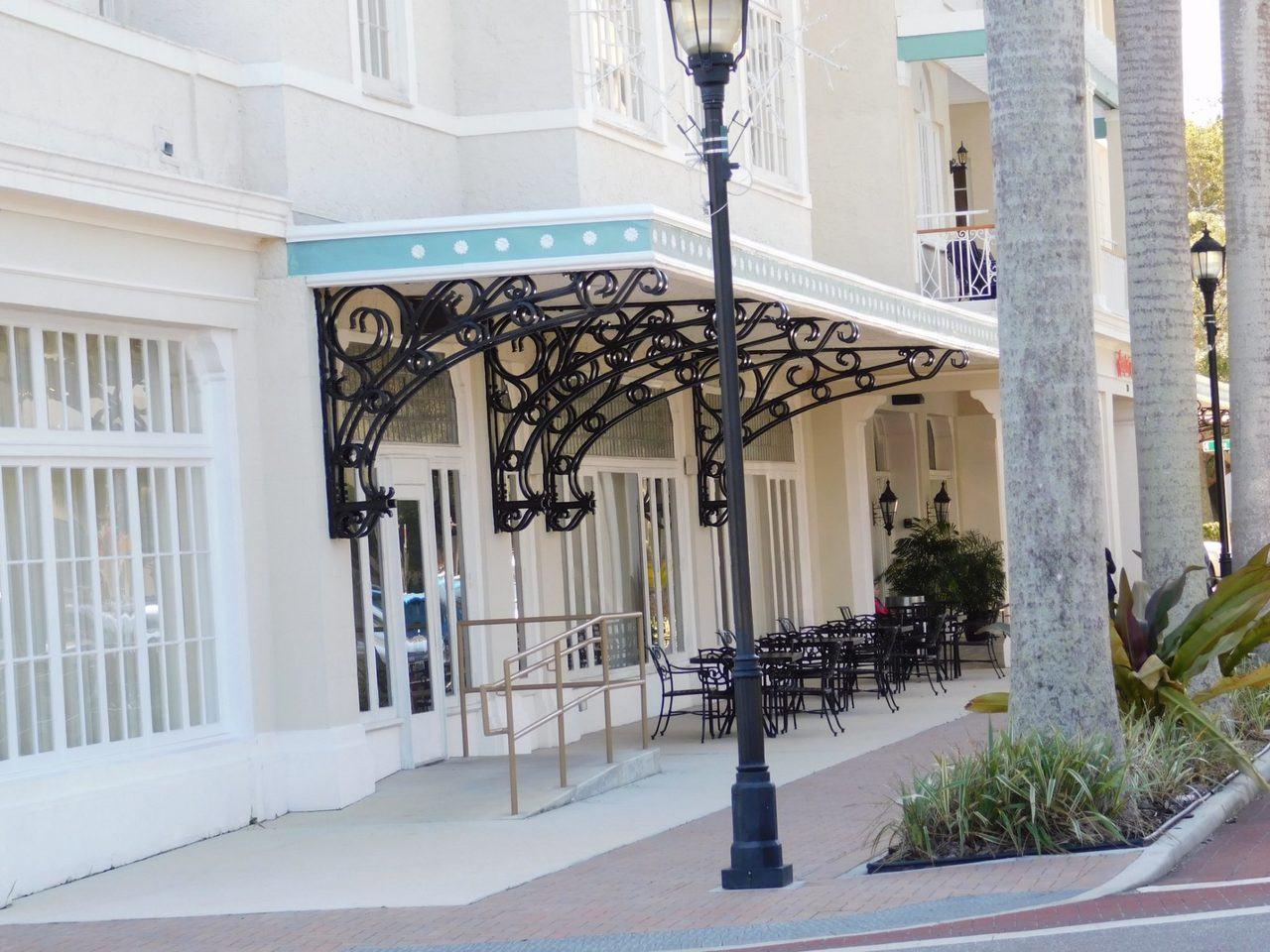 Centre ville de Bradenton en Floride