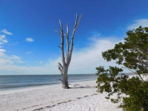 Plage de Lovers Key en Floride