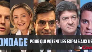 Photo of Sondage : Expatriés aux USA, vous voterez pour quel président en France ?