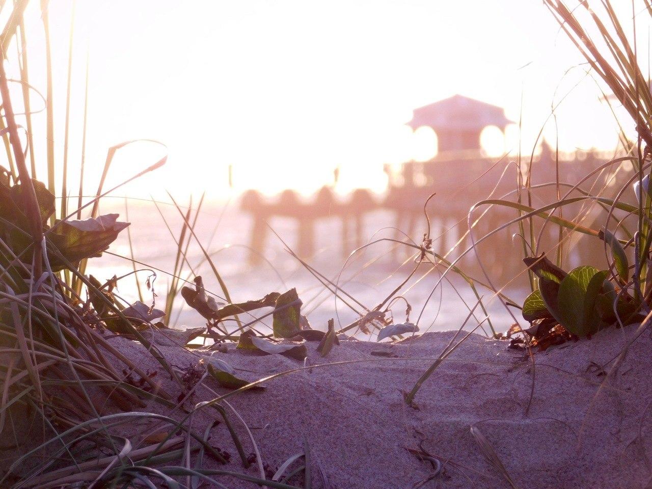 Plage et jetée de Lauderdale-by-the-Sea en Floride
