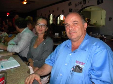 Alicia Javelon, Richard Clavet Table ronde tourisme et Networking