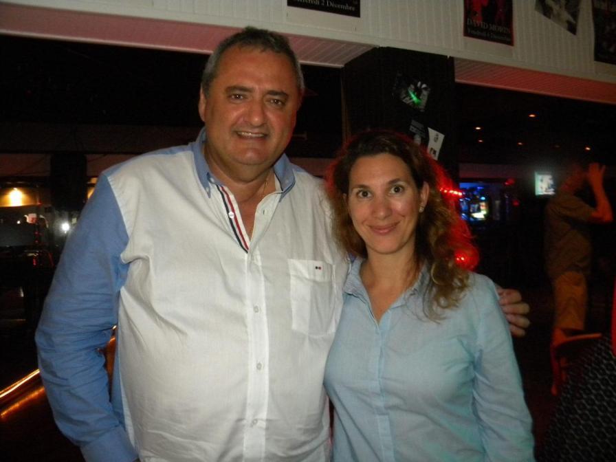 Franck Bondrille, Aline Martin-O'Brien Table ronde tourisme et Networking