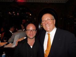Fabien Chalard (restaurant Le Vagabond à Miami) et Xavier Capdevielle (conseiller consulaire et pdt de l'UFE Floride).