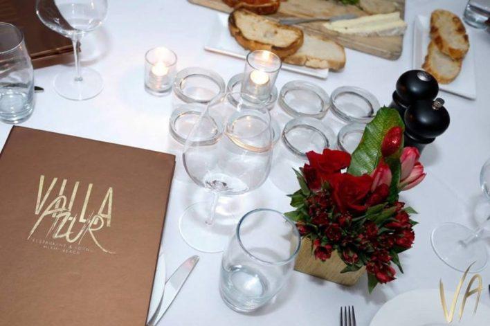 Restaurant Villa Azur Miami Beach
